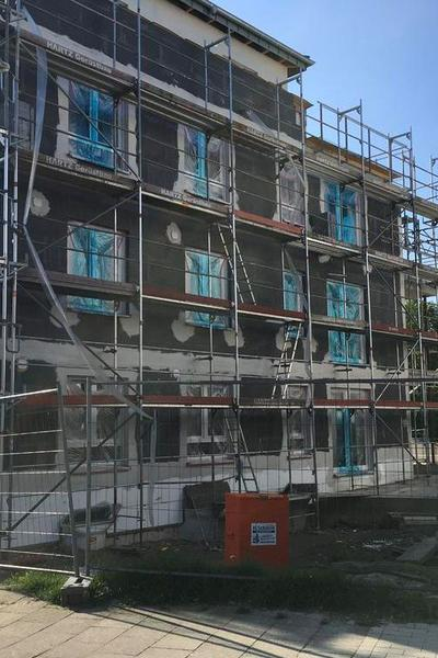 Abnahme eines Mehrfamilienhauses